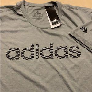 Adidas short sleeve tee in grey size 2XL NWT